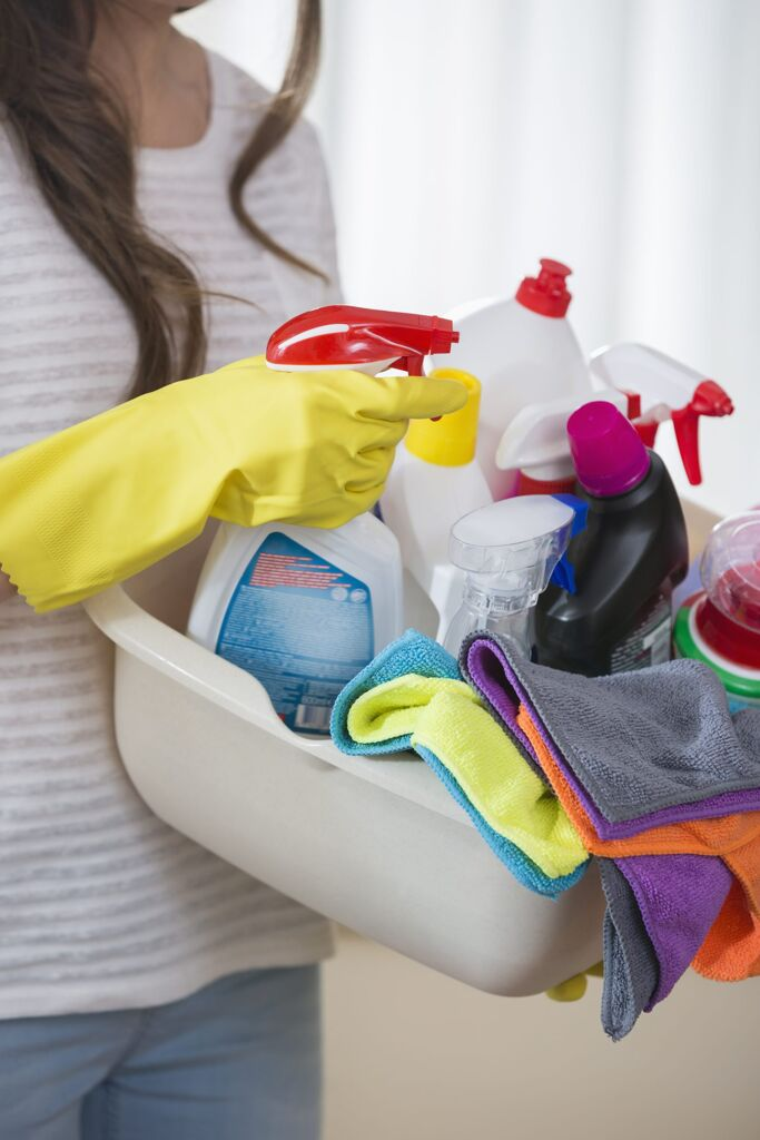 safe cleaning supplies