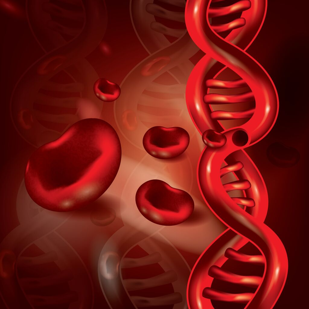 blood cell cartoon